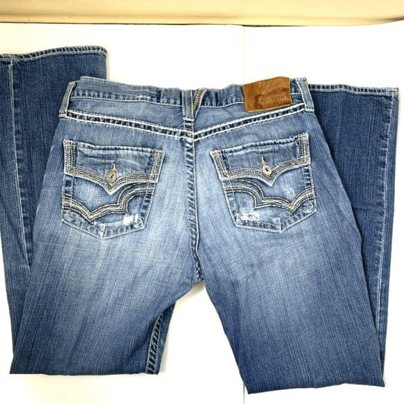 BIG STAR Other - Big Star 36L Pioneer Mens Distressed Jeans